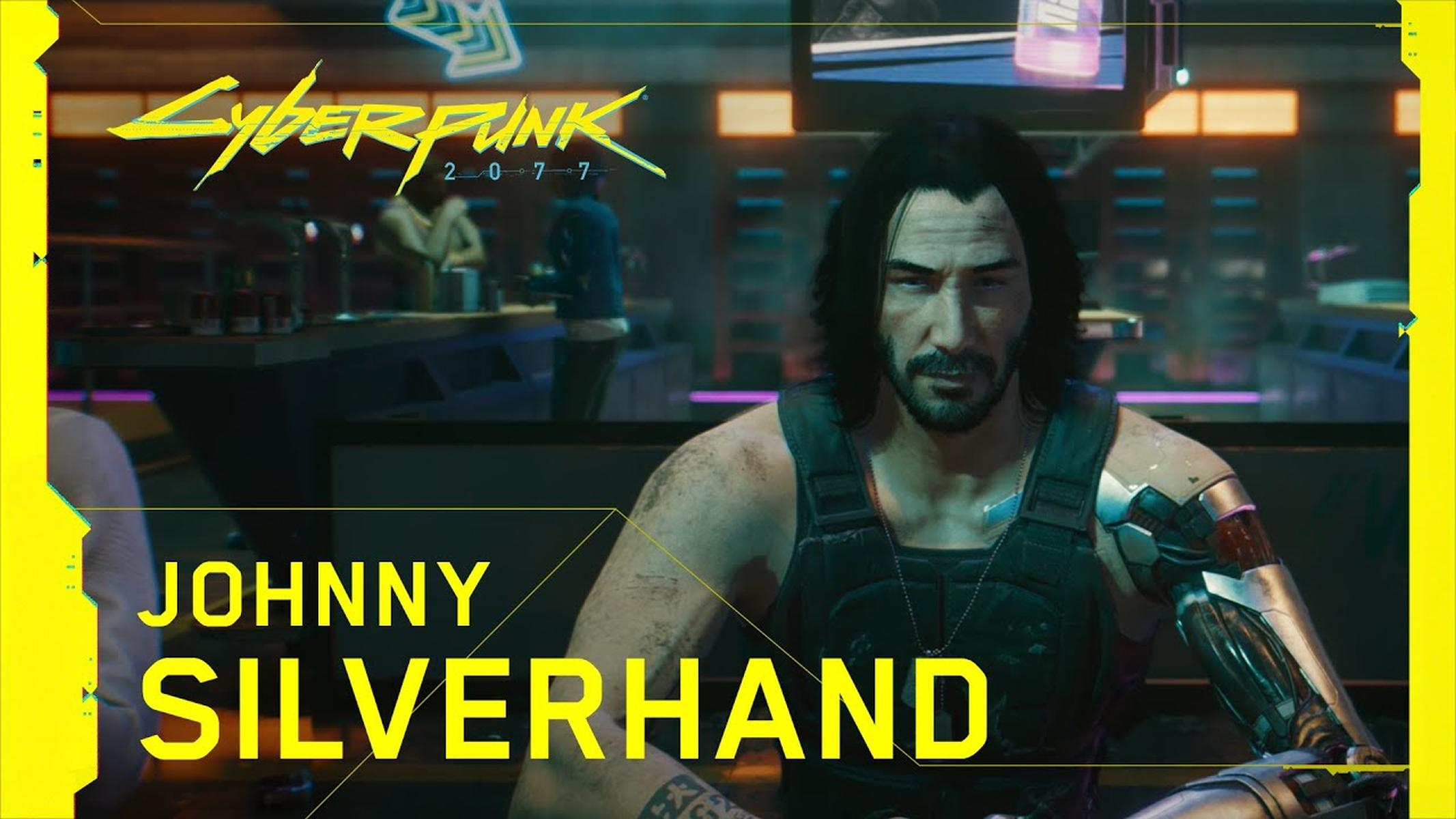 Johnny Silverhand trailer