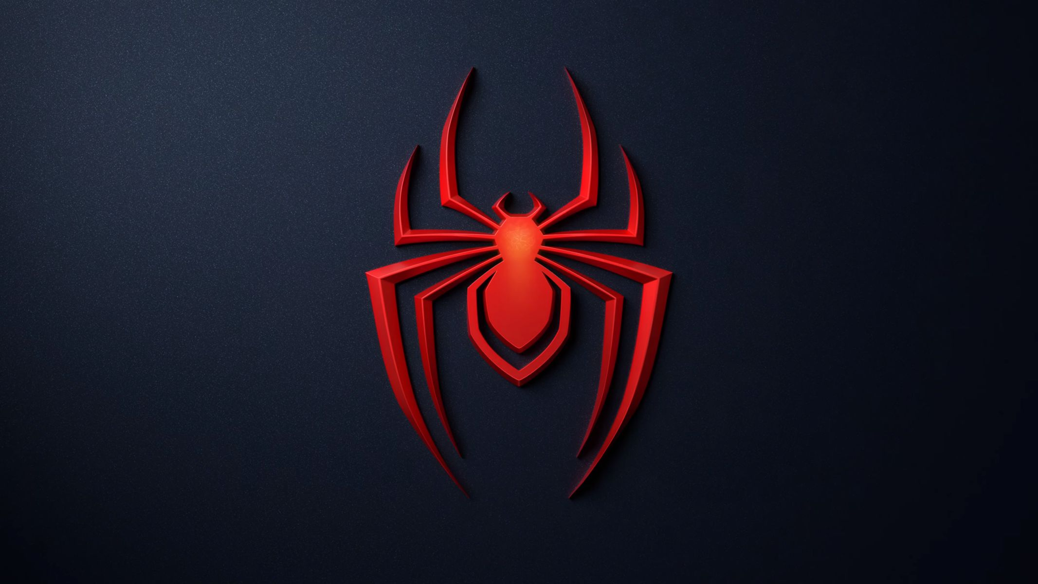 Spider-Man Miles Morales Logo Wallpaper