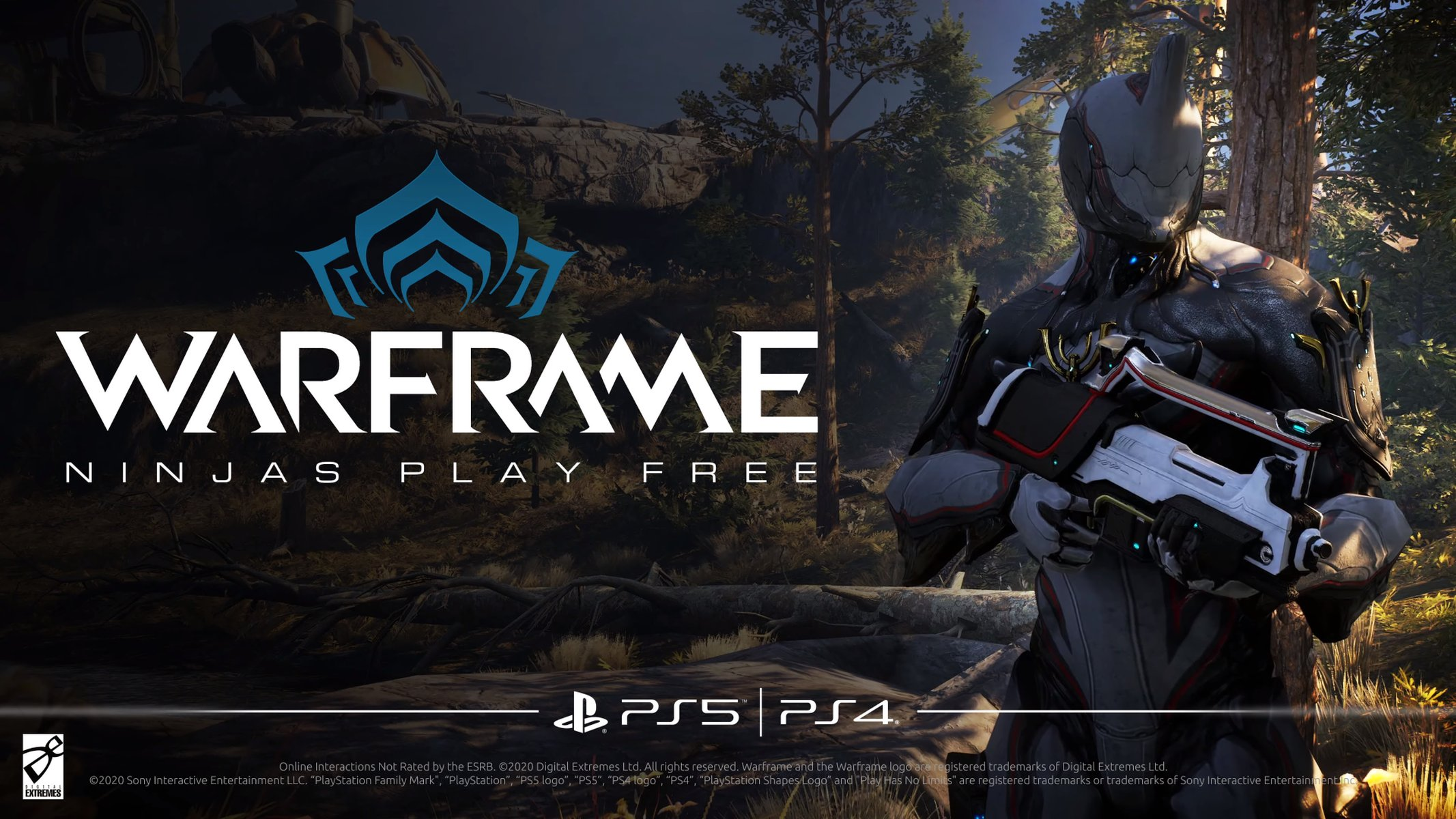 Warframe PS5 Trailer