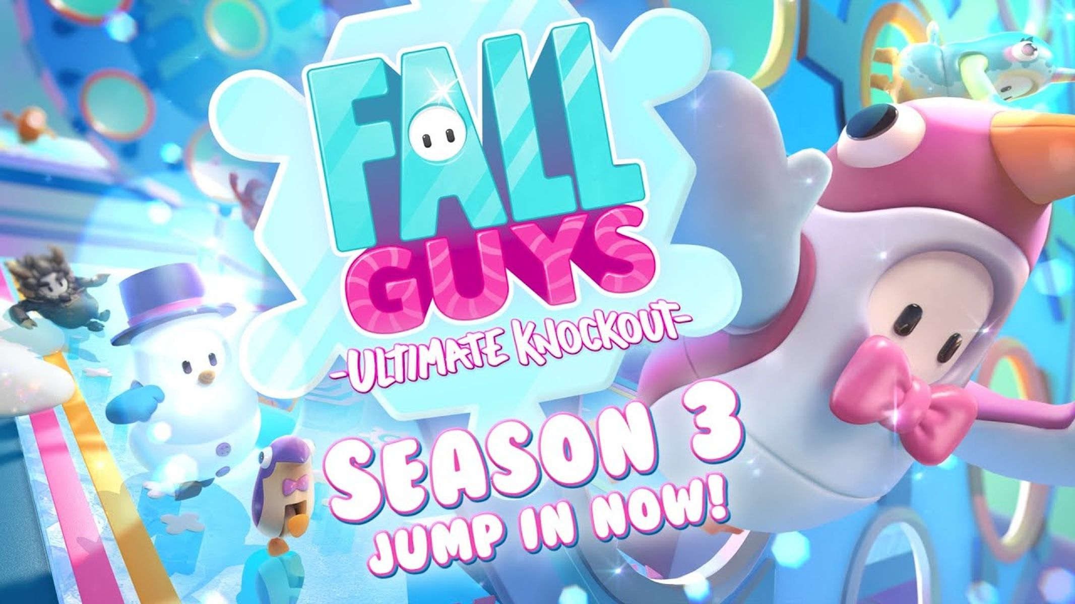 Fall Guys Season 3 Winter Update