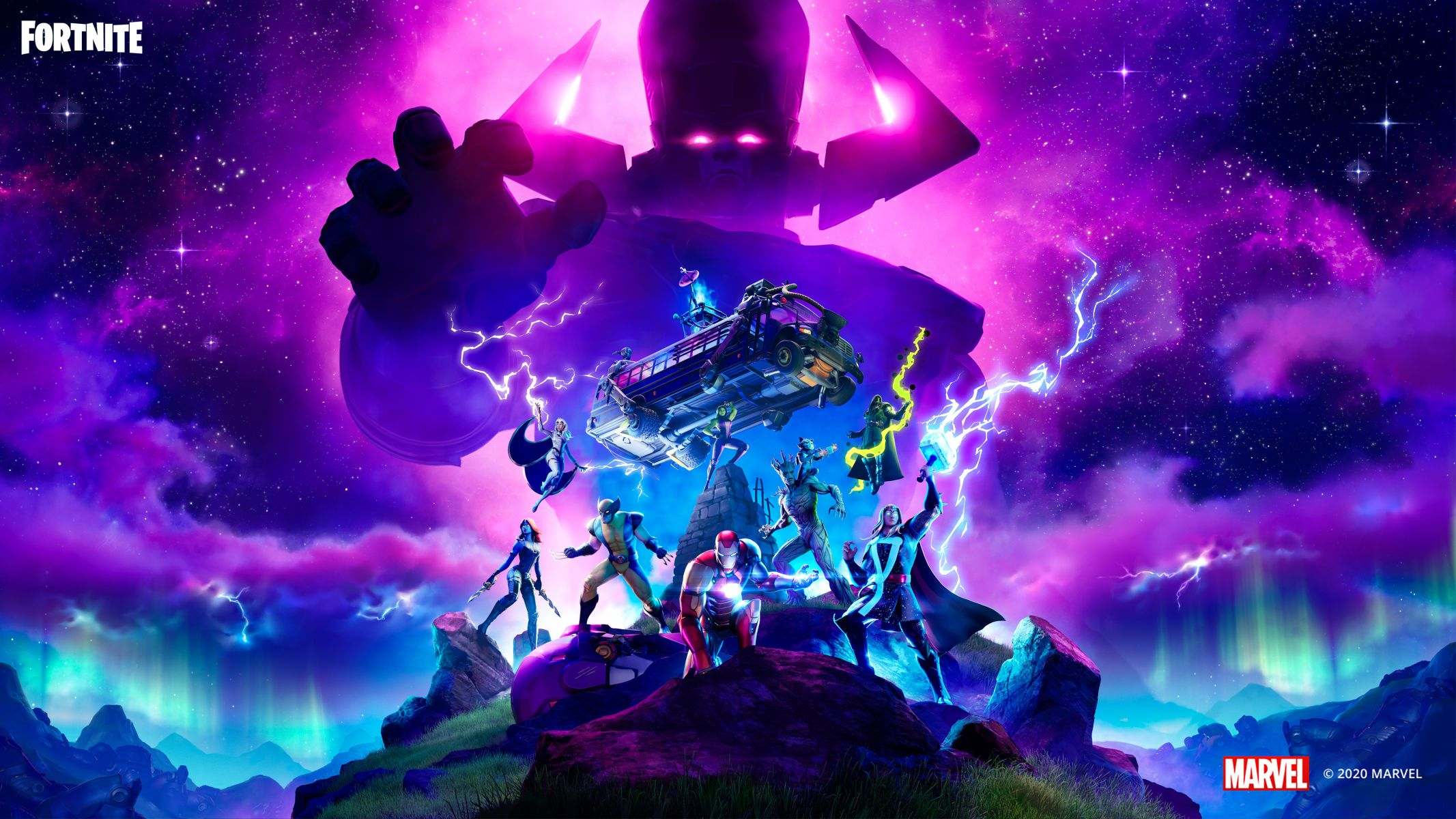 Fortnite Galactus Marvel Event