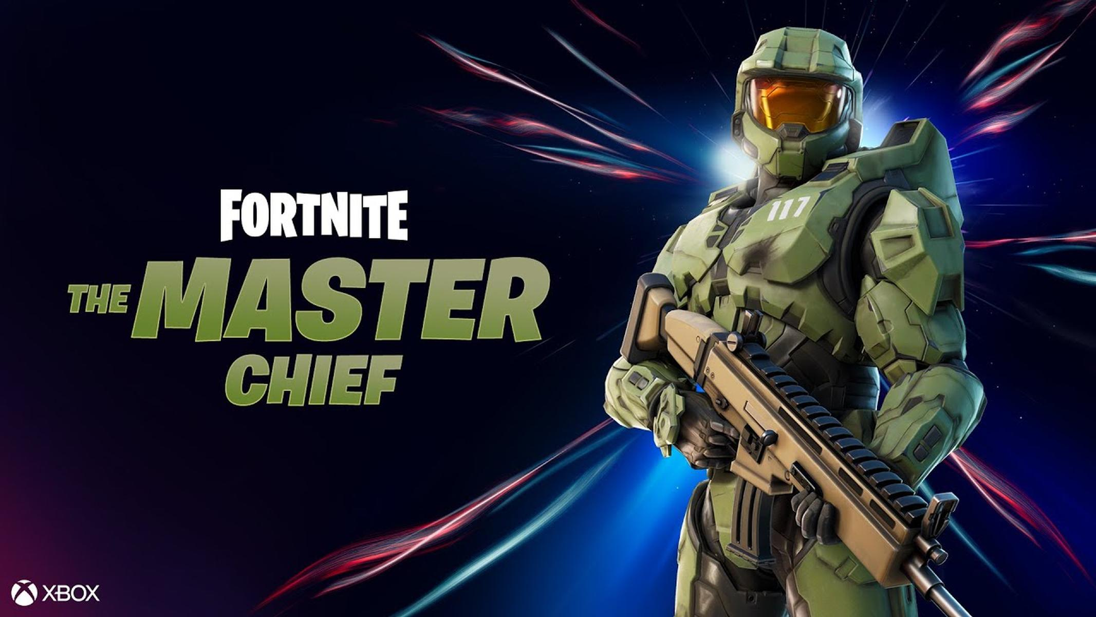 Fortnite Master Chief Xbox