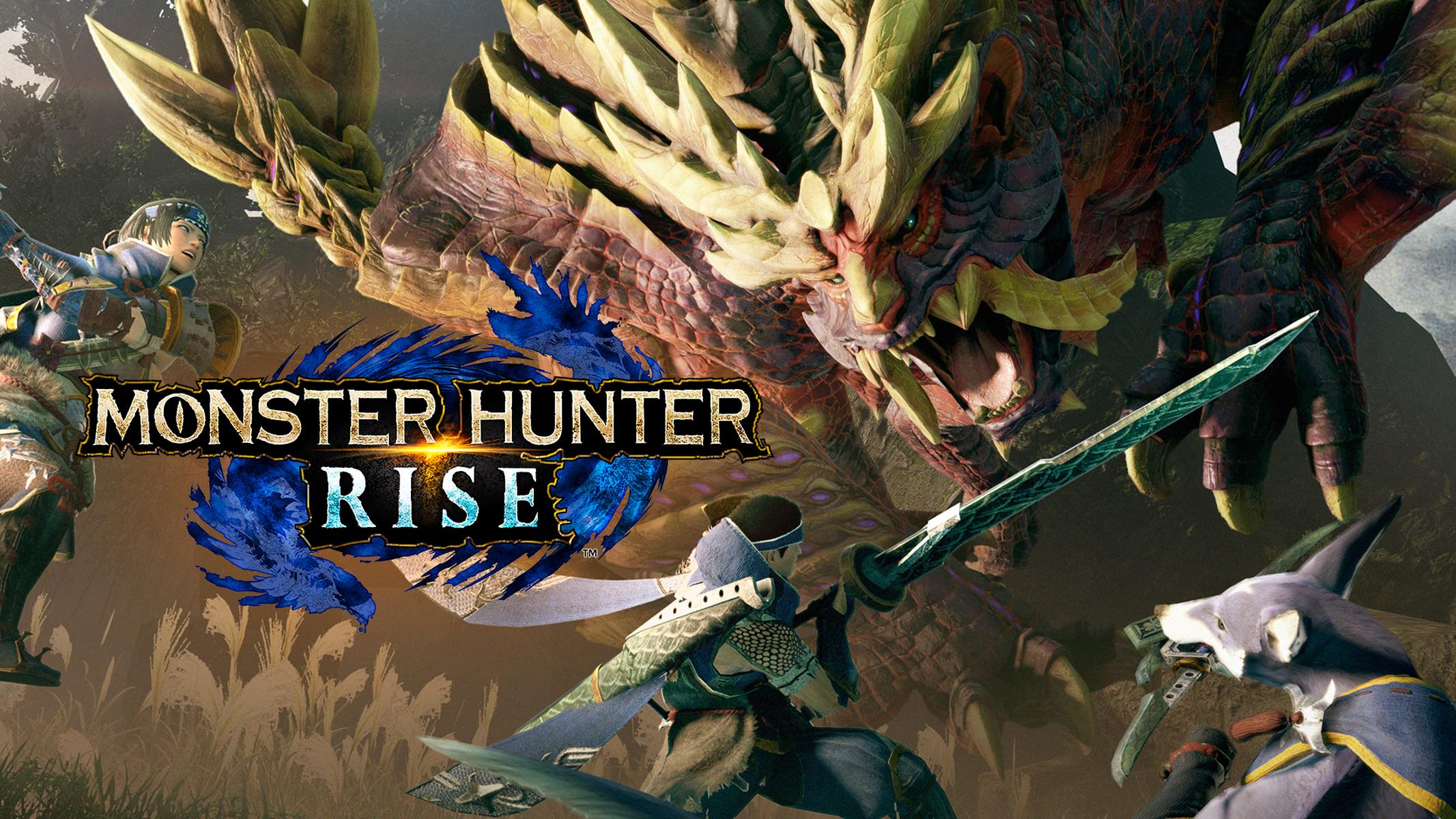 Monster Hunter Rise Gameplay Switch