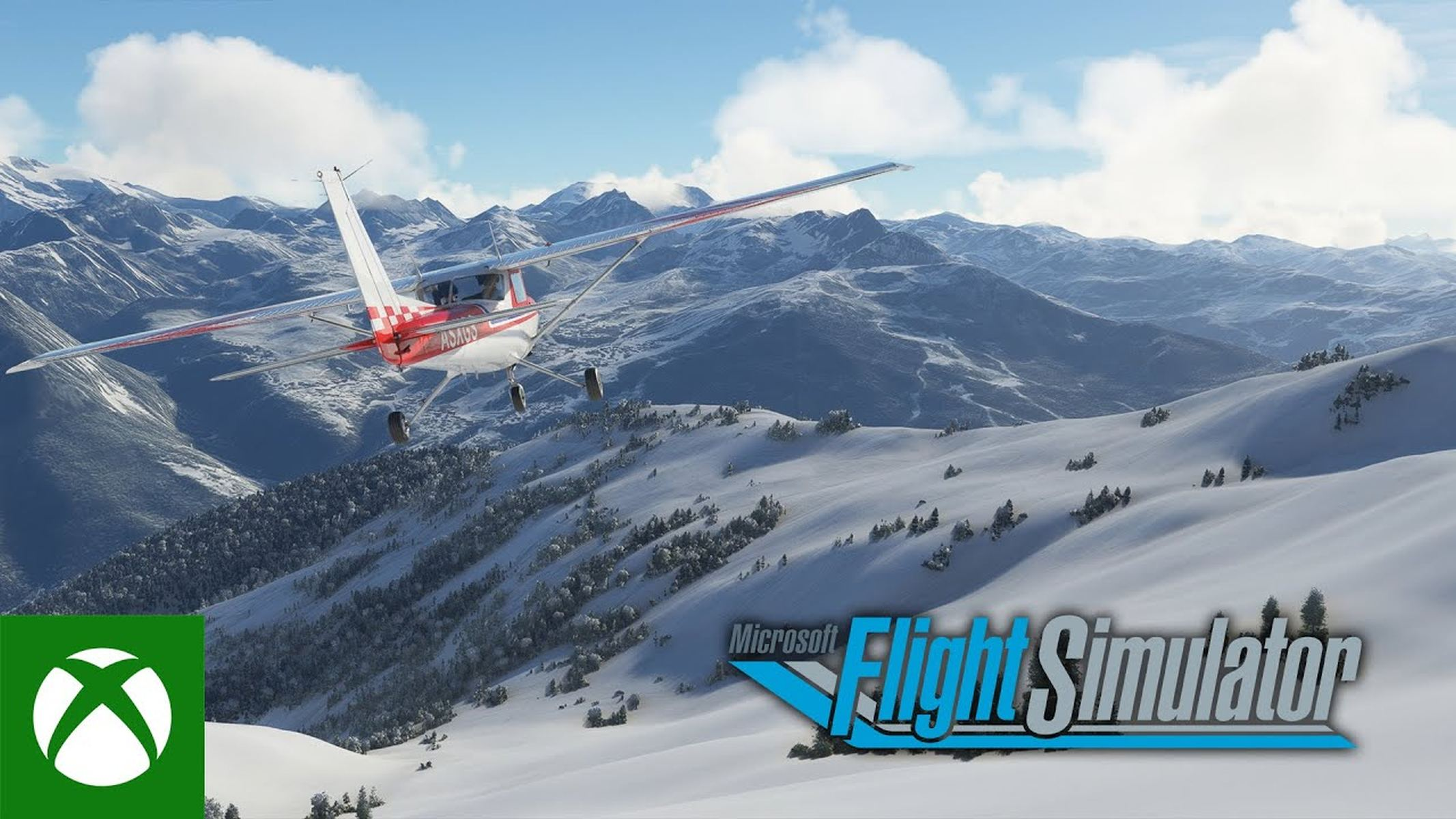 Microsoft Flight Simulator Snow Earth