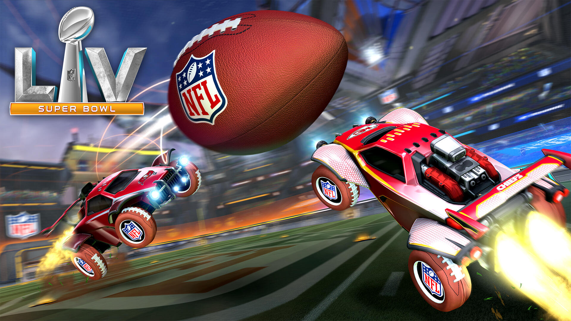 Rocket League NFL Gridiron