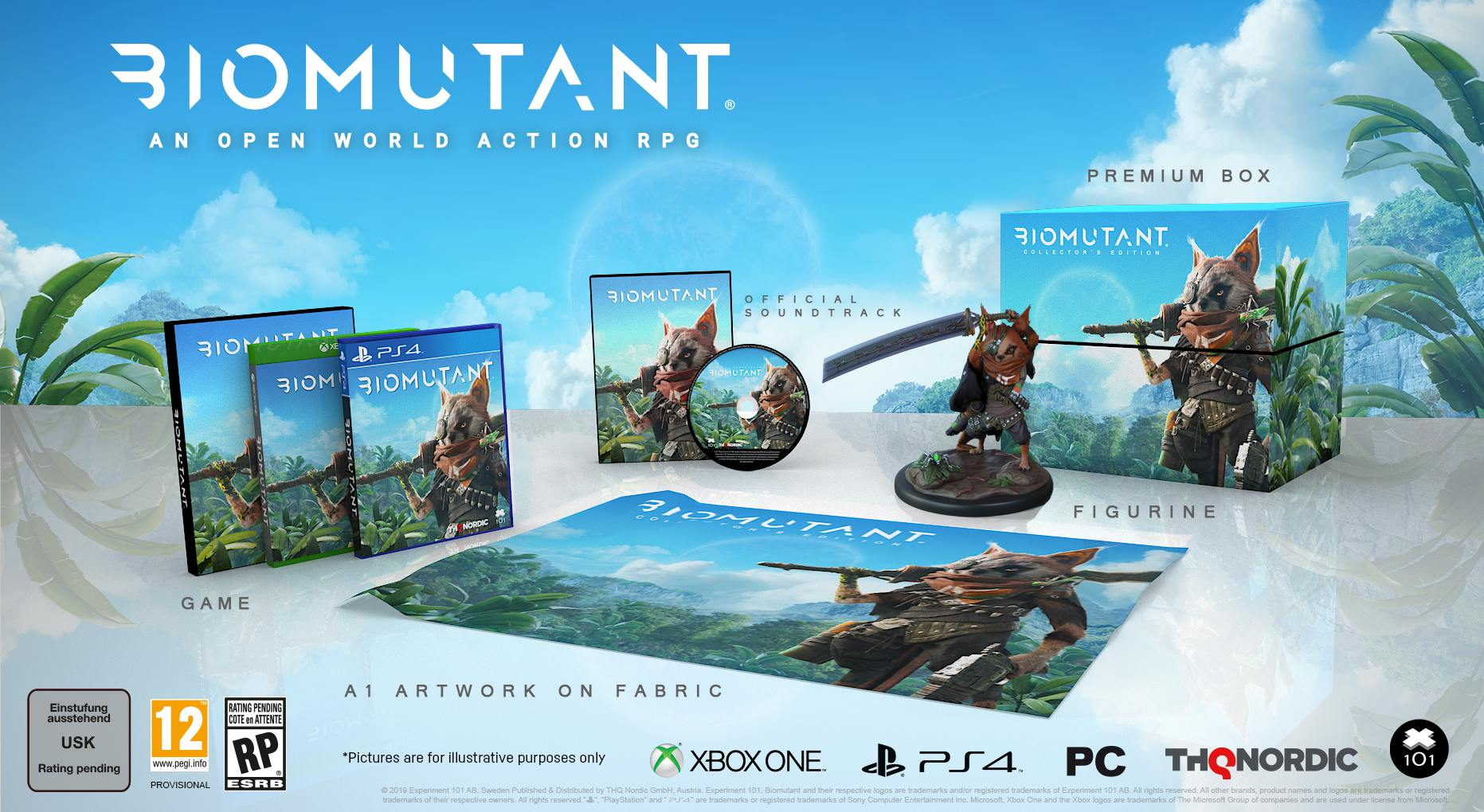 biomutant Collector Edition