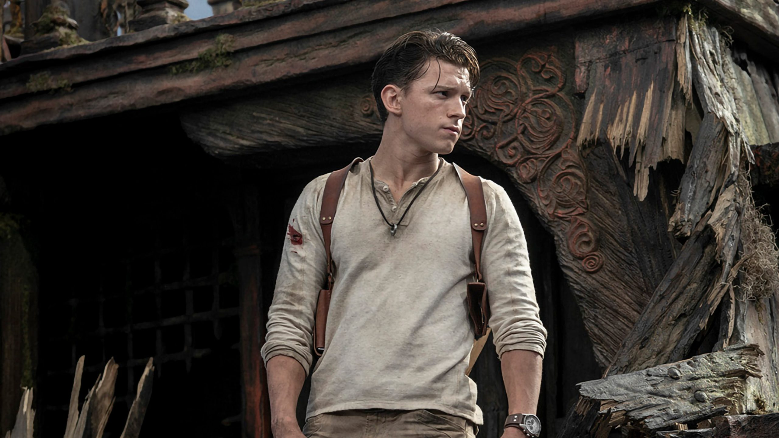 Uncharted film Tom Holland as Nathan Drake