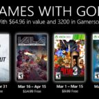 Games With Gold Marec 2021