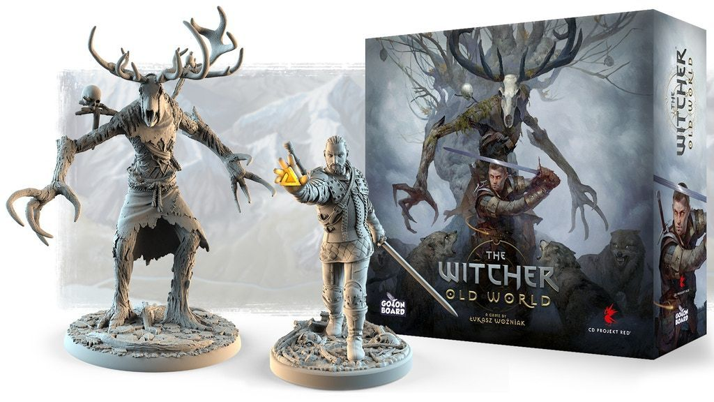 The Witcher Old World Board Game