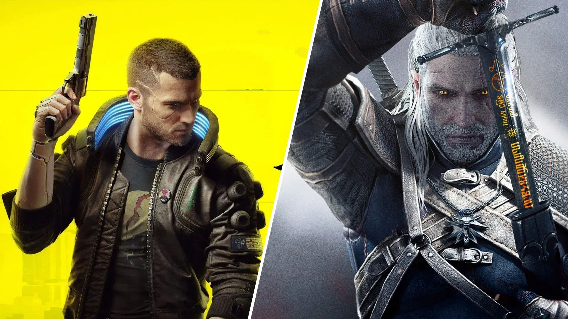 Cyberpunk 2077 and Witcher 3