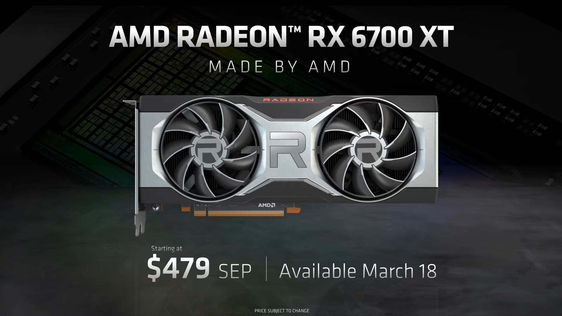 Radeon RX 6700 XT 12GB Price