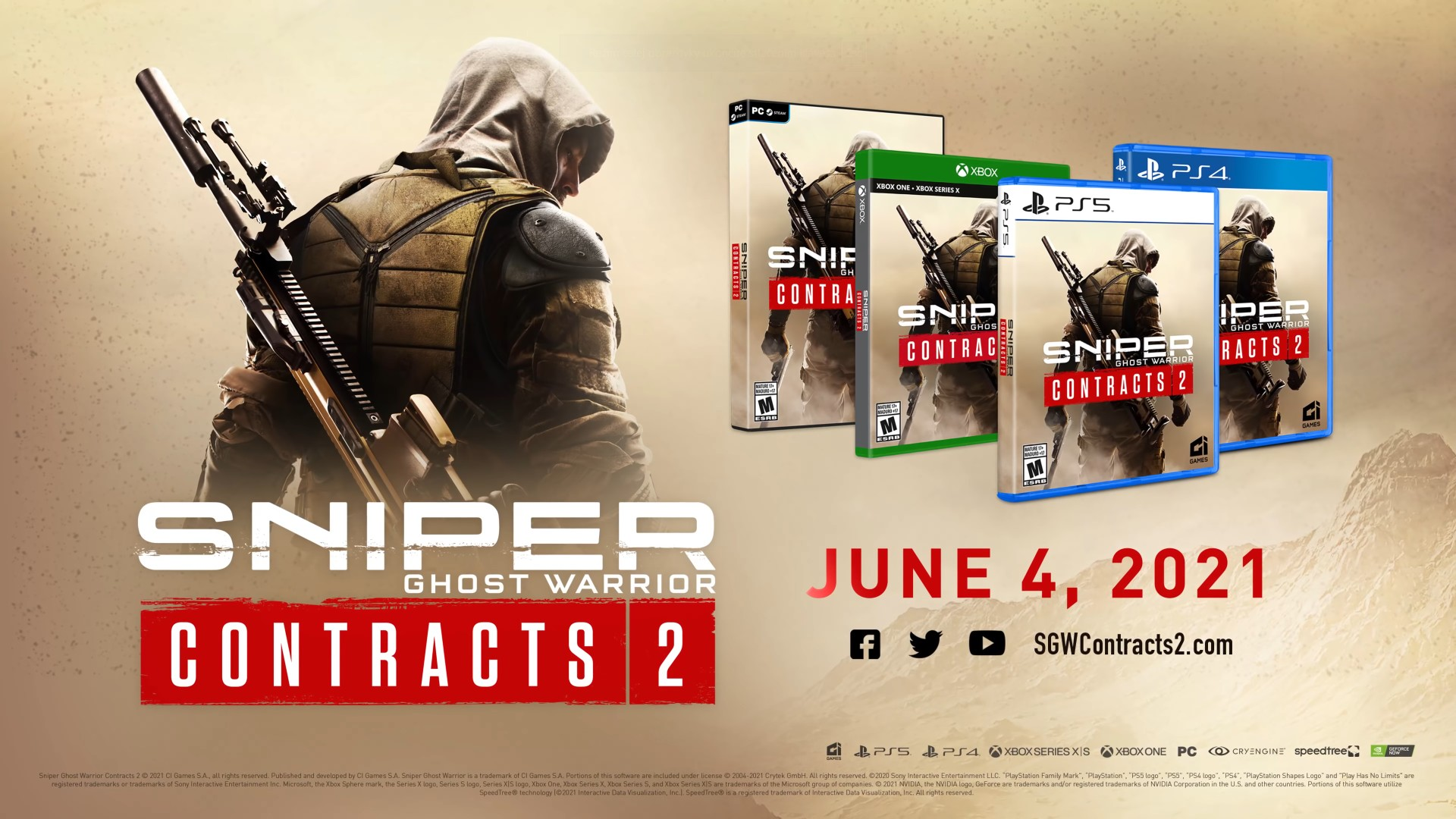 Sniper Ghost Warrior Contracts 2 Release Date