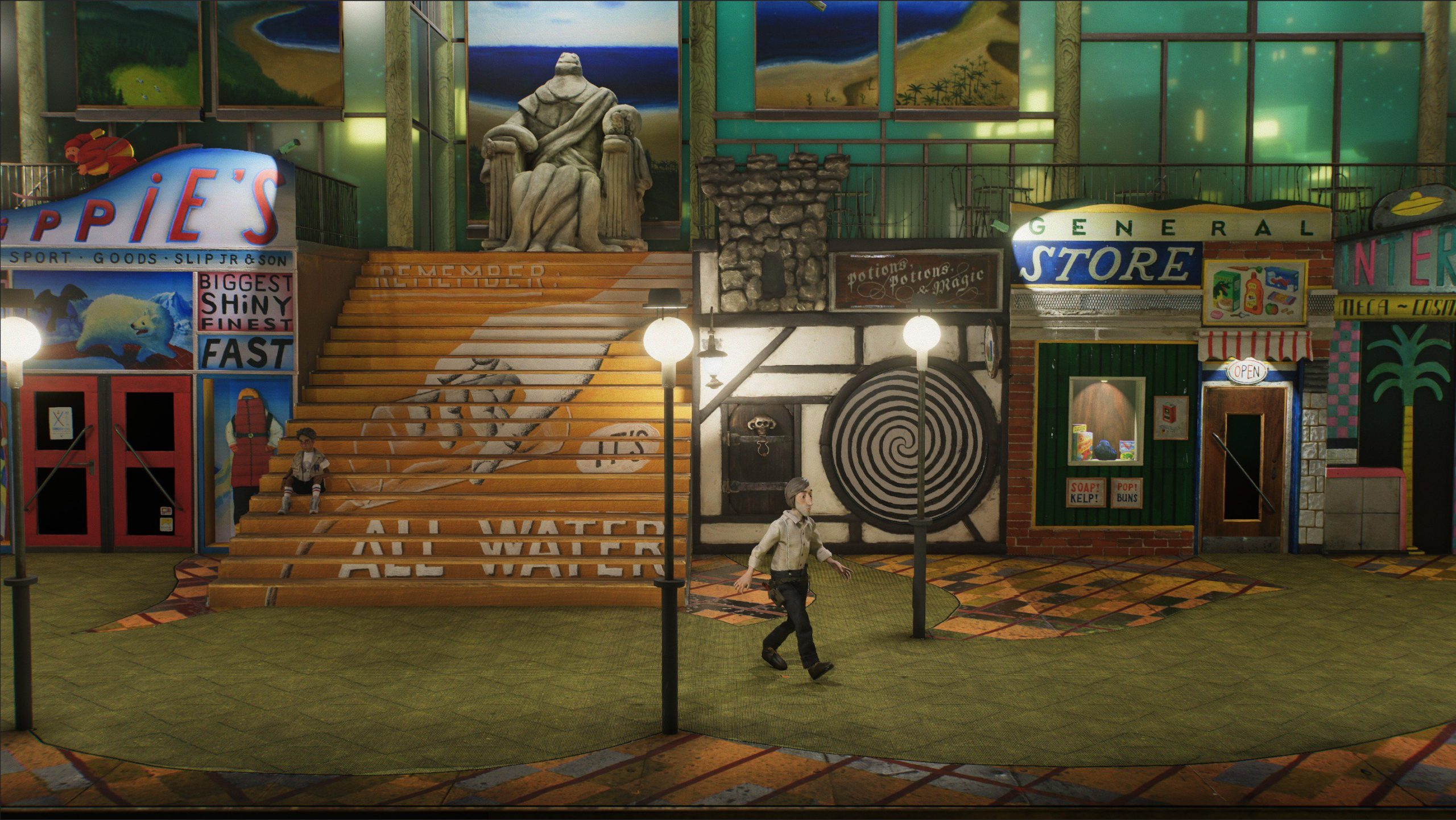 Harold Halibut Game Screenshot 1