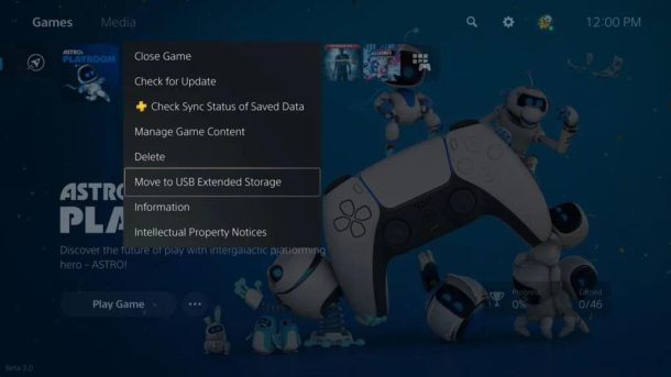 PS5 hry Externy Disk USB