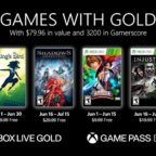 Xbox Games With Gold Jún 2021