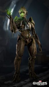 Marvel's Guardians of the Galaxy Screenshot Groot