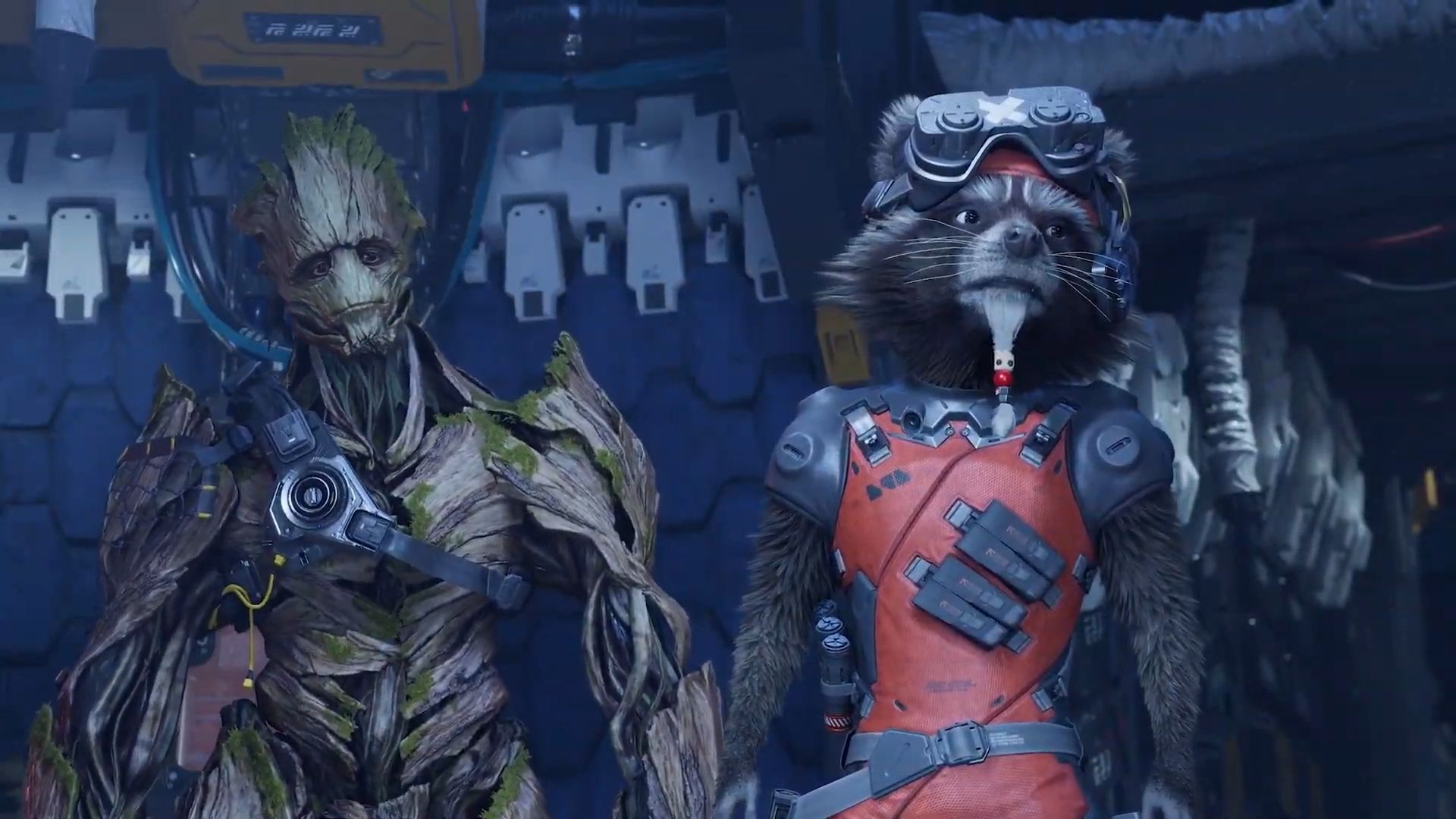 Guardians of the Galaxy Groot Rocket