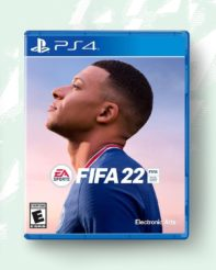 FIFA 22 PS4 Cover Star