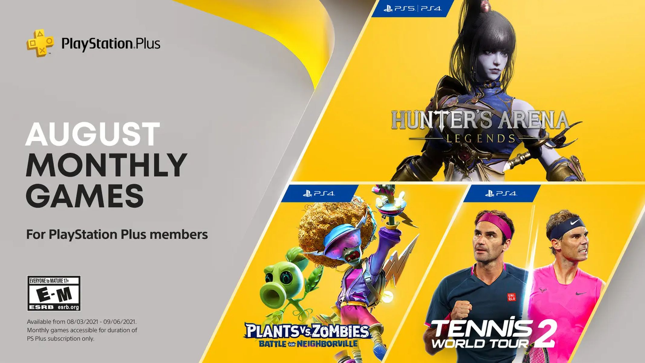 PS Plus hry August 2021