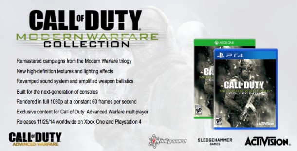 COD MW collection PS4 Xbox One