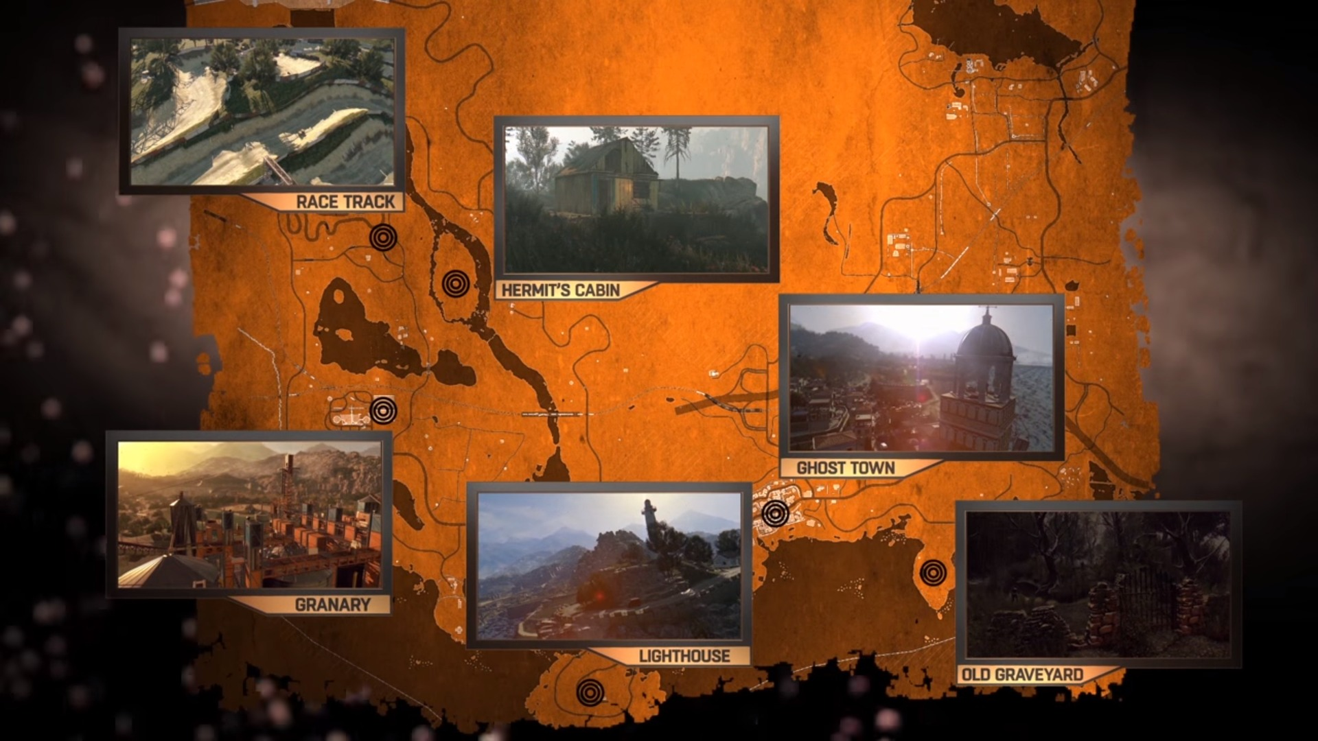 Dying Light The Following Map
