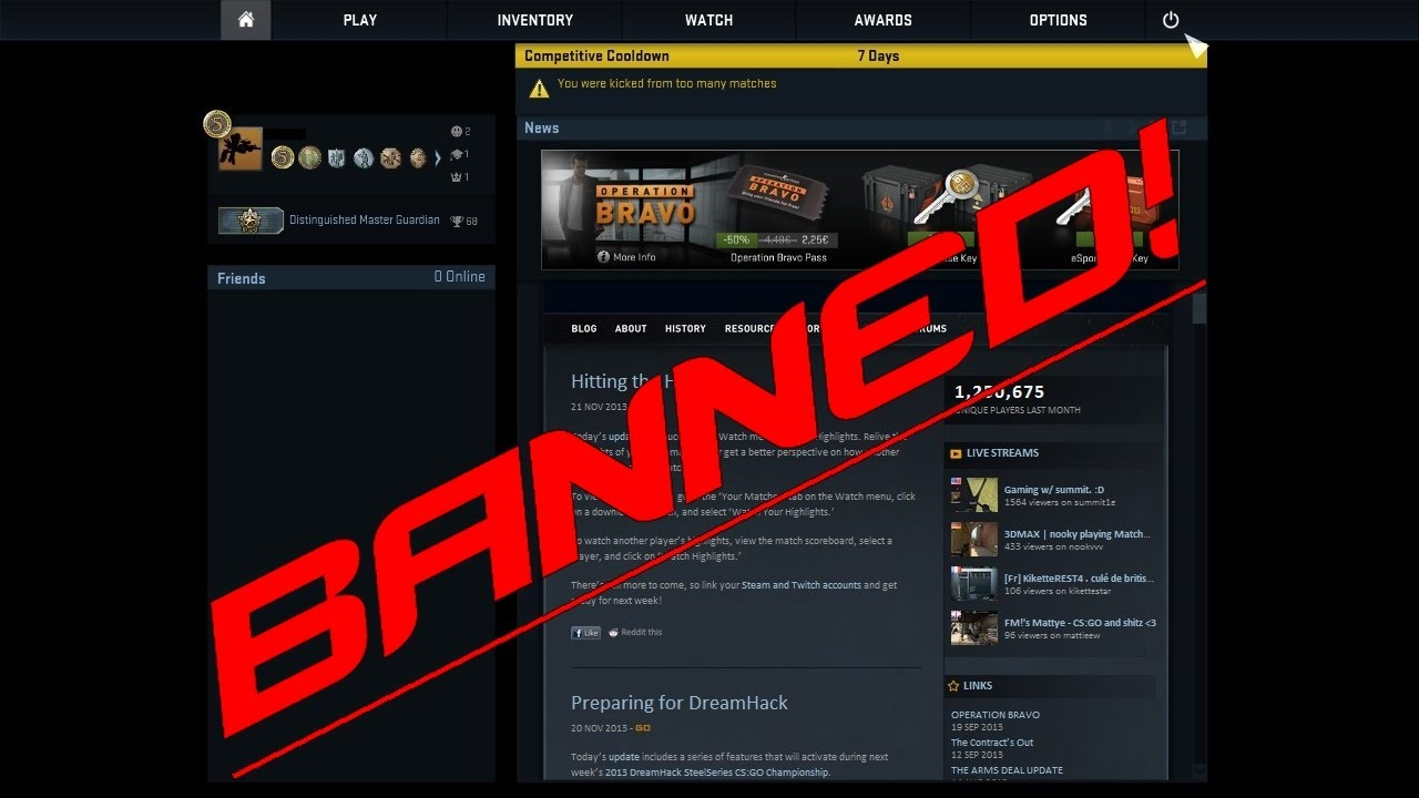 Cs Go Trade Ban System « Maximize your trading profit with